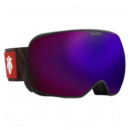 GAFAS NIEVE MAJESTY THE FORCE black/blackl+yellow