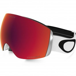 GOGGLE  OAKLEY FLIGHT DECK PRIZM heathered black grey/ torch